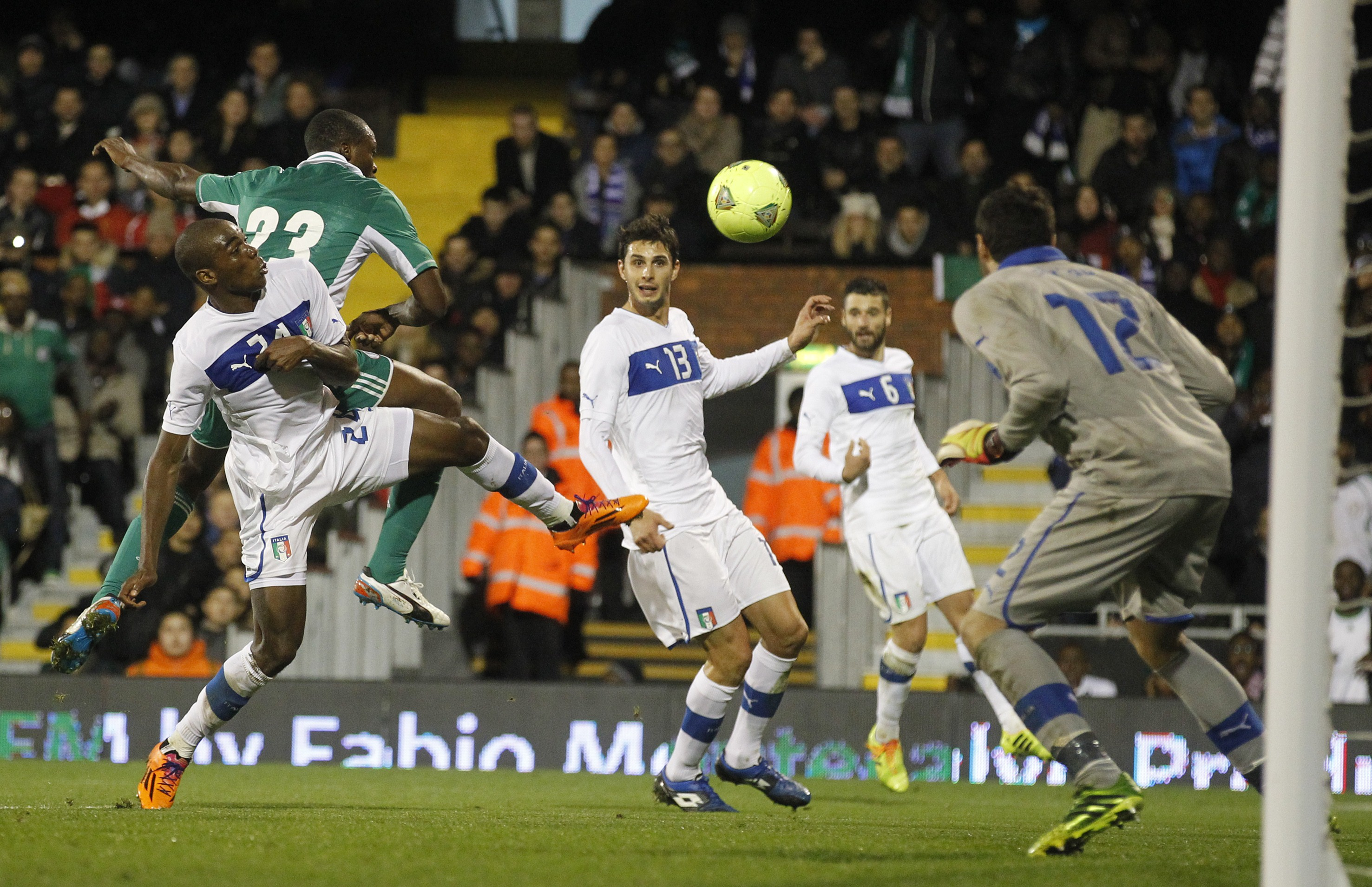 2013, Angelo Ogbonna, Italy-Nigeria