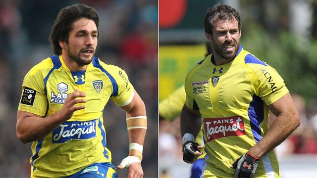 Clermont: Bardy et James poursuivent l'aventure - Rugby - Top 14