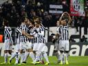 Vidal treble earns Juventus first three points
