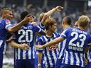 Hertha up to sixth after win over Werder