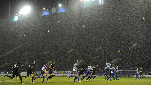 Wednesday-Wigan scuppered by weather