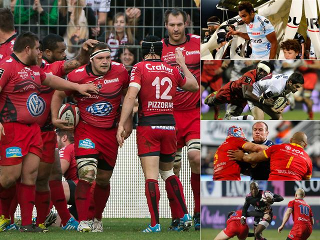 Un jour, cinq images: On a retrouvé le grand Toulon... - Rugby - Top 14