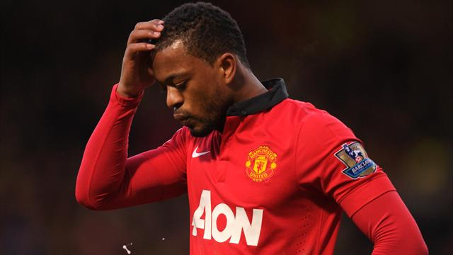 FOOTBALL 2013 Manchester United - Evra