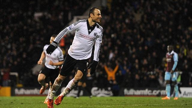 Fulham's Dimitar Berbatov has been linked with a move to Arsenal