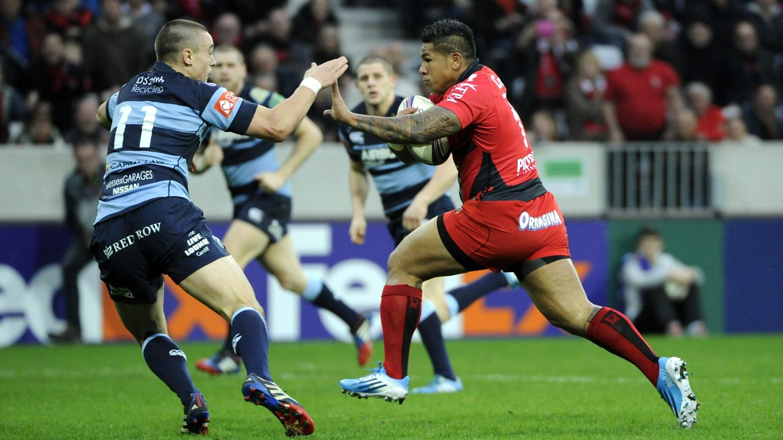 David SMITH  - toulon cardiff - 11 janvier 2014