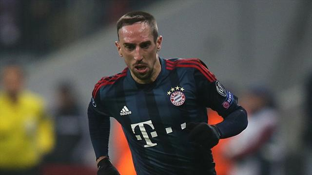 Franck Ribery had to settle for third in the Ballon d'Or