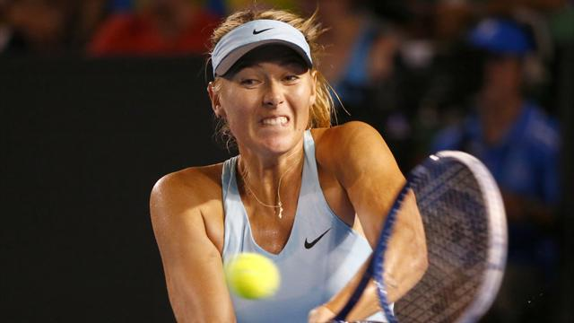 Below-par Sharapova through in Melbourne  - Tennis - Australian Open women