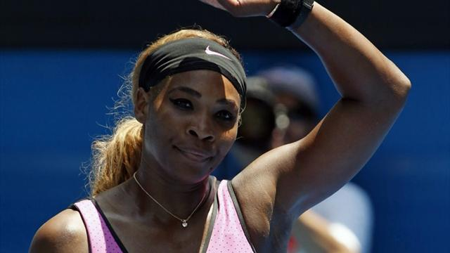 'Paranoid' Serena survives heat to advance in Melbourne