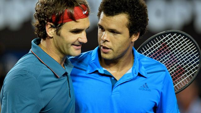 Federer Demolishes Both Tsonga and Theory He's In Decline