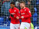 Campbell strike enough for Cardiff at Bolton