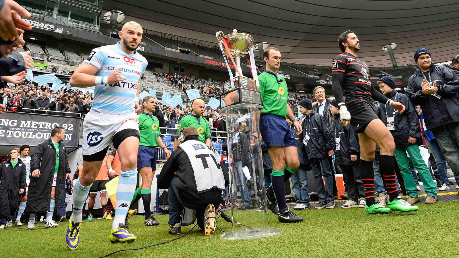 Benjamin LAPEYRE - 25.01.2014 - Racing Metro 92 / Toulouse - 17eme Journee du Top 14
