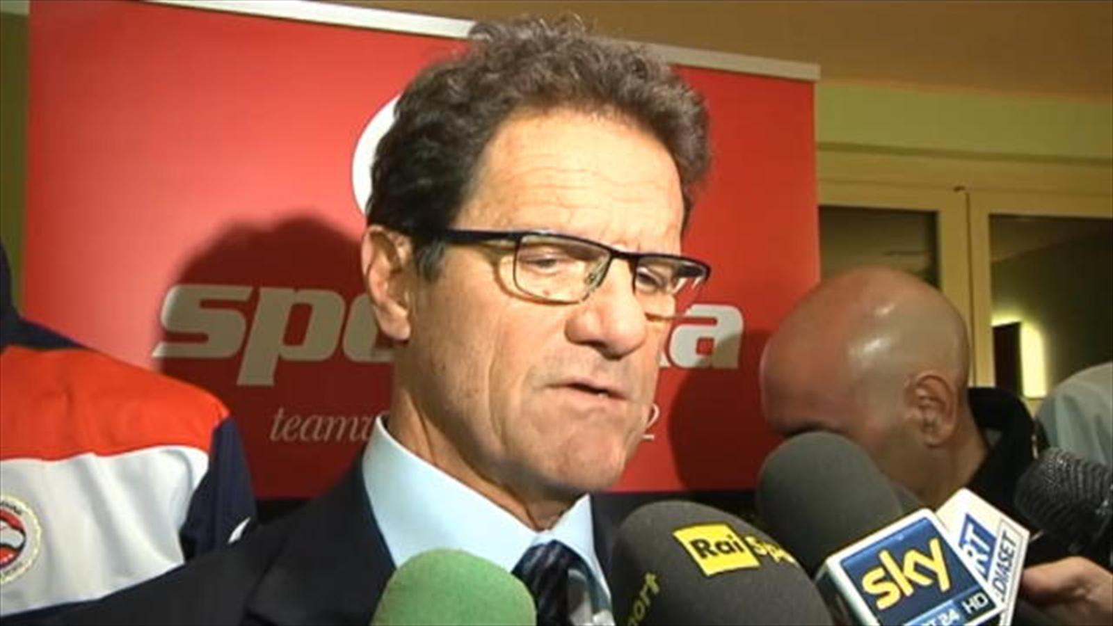 Russia coach fabio capello his tipped brazil as the strong favourites