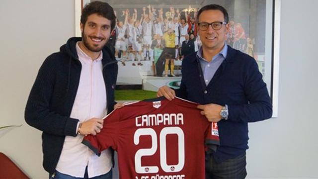 Jose Campana signs for Nurnberg (Pic: www.fcn.de)