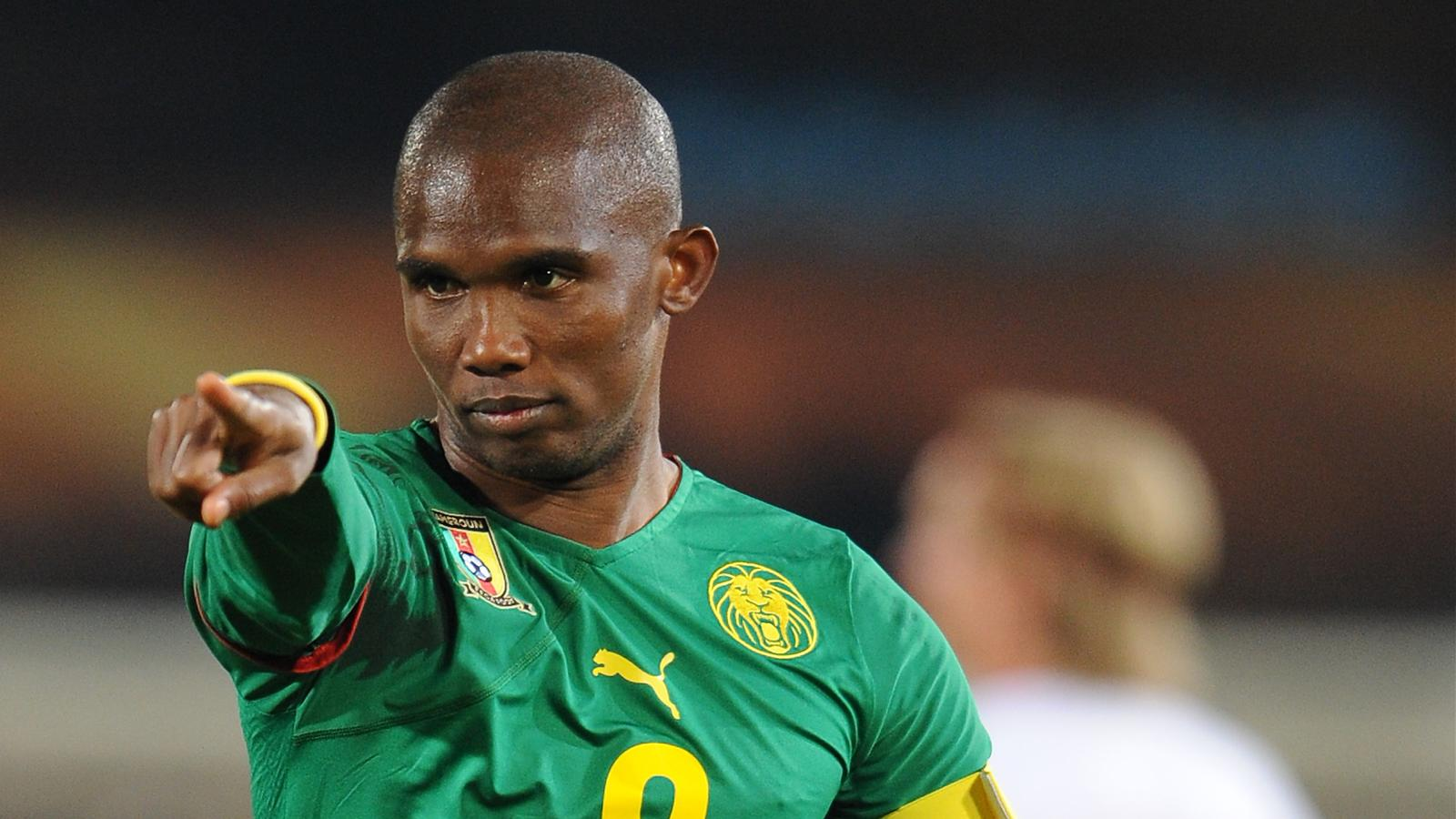 Samuel Eto'o Cameroun football player