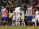 Real dominate Atletico to take control of Copa semi