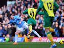 Stuttering Man City draw at Norwich