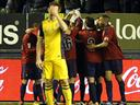 Atletico Madrid suffer Champions League hangover against Osasuna