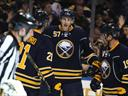 Sabres down Sharks immediately after trades