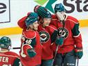 Wild third period as Minnesota snuff out Flames