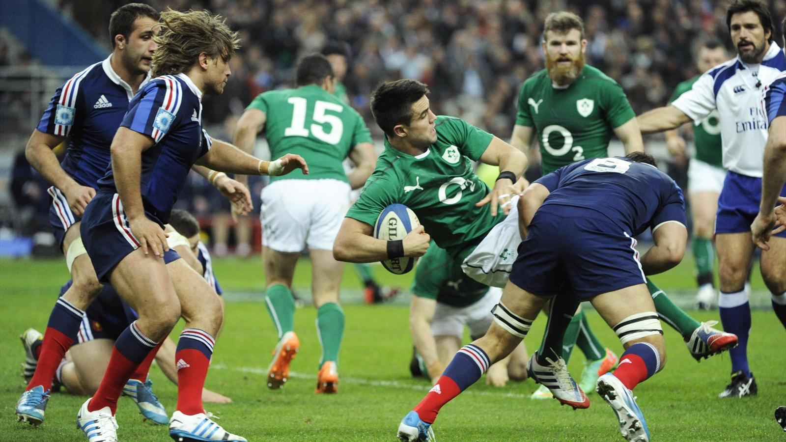 Conor Murray - france irlande - 15 mars 2014