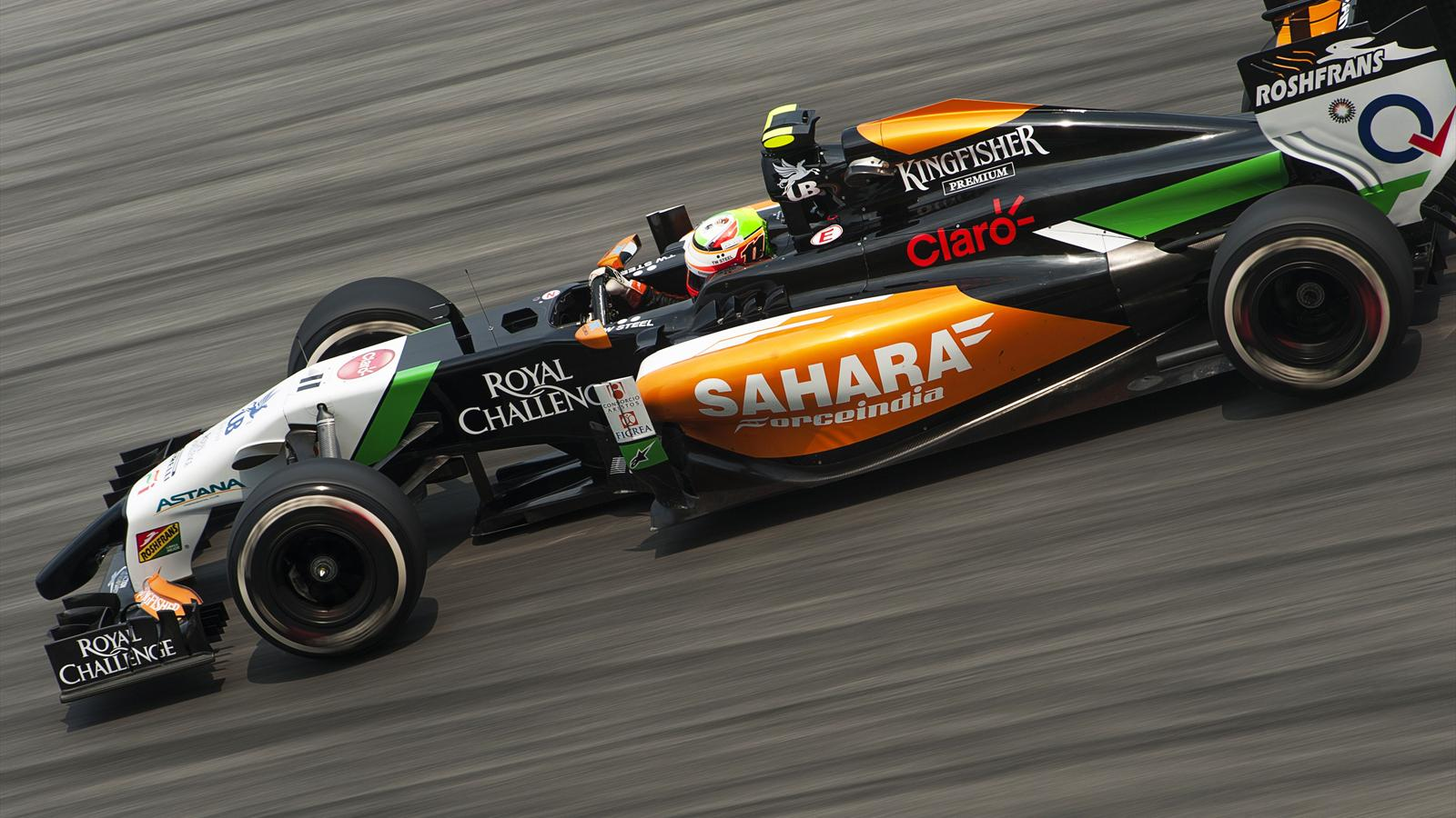 2014 GP of Malaysia Force India Pérez