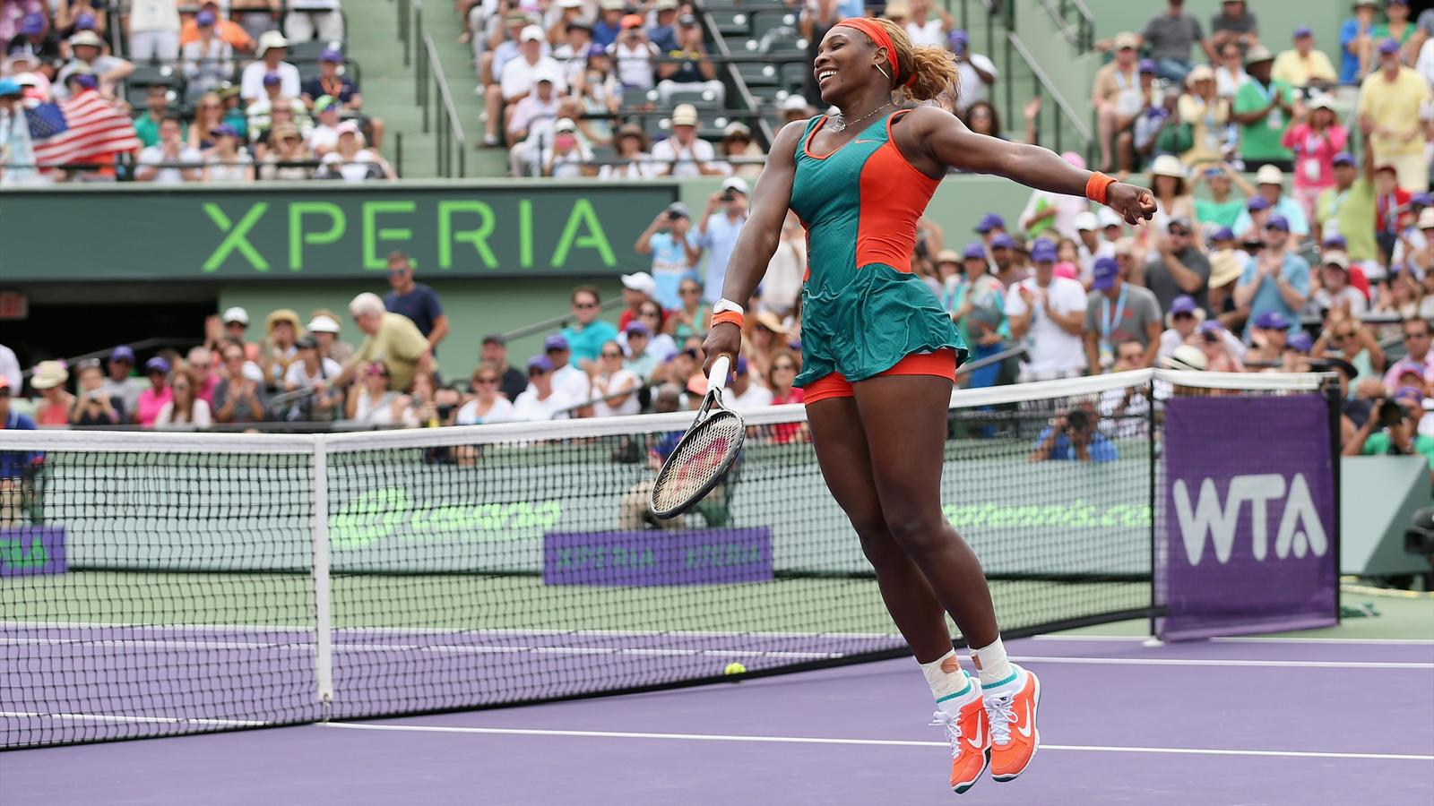 Serena Williams 2014 Miami WTA
