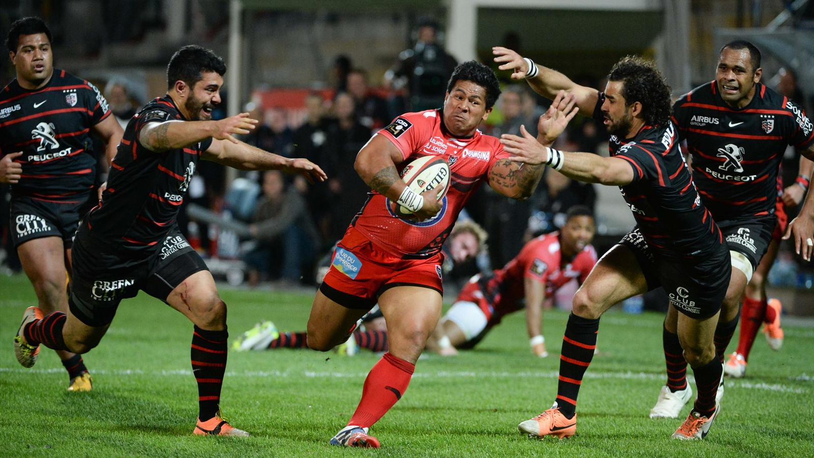 David Smith - Toulon Toulouse - 29 mars 2014