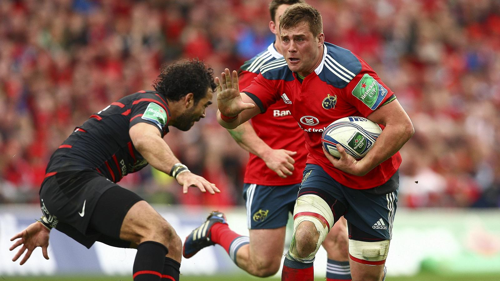 CJ Stander - Munster Toulouse - 5 avril 2014