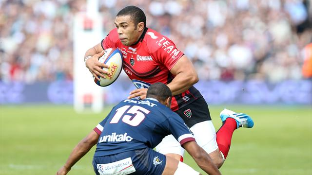 Bryan Habana - bordeaux bègles toulon - 12 avril 2014