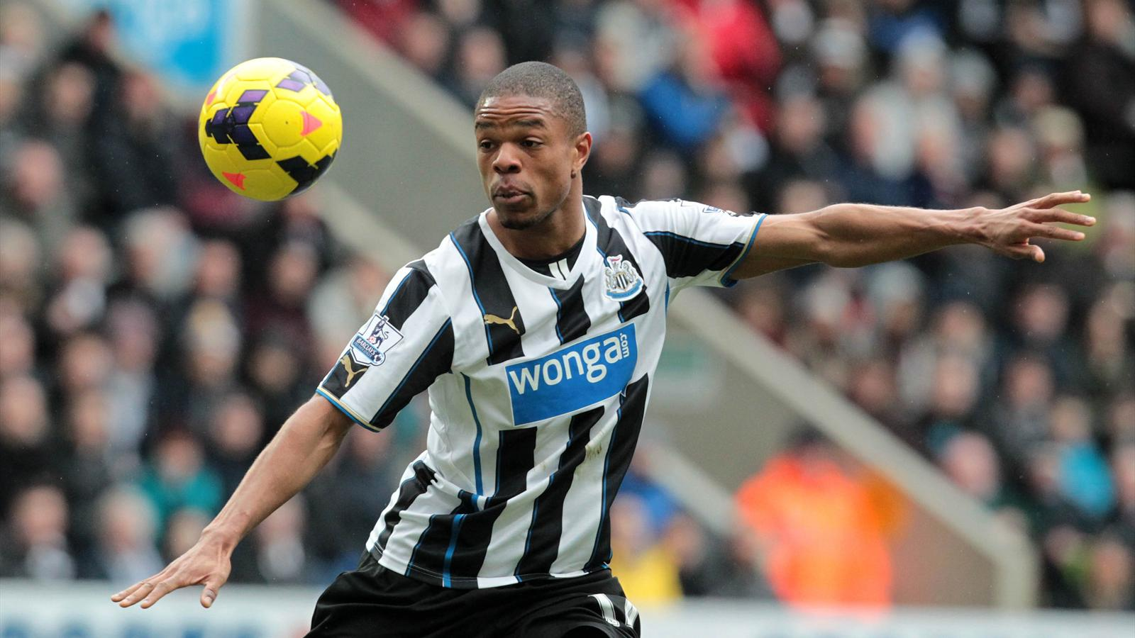 Newcastle United's French striker Loic Remy