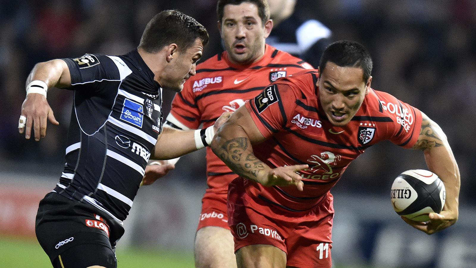 Hosea Gear - toulouse brive - 12 avril 2014
