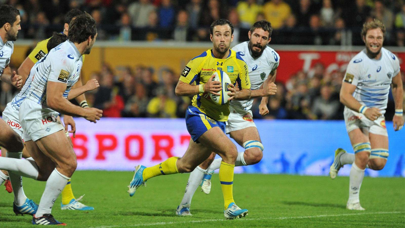 Morgan Parra - Clermont Castres - 11 avril 2014