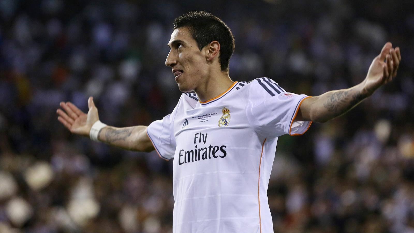 Angel Di Maria - milieu de terrain du Real Madrid