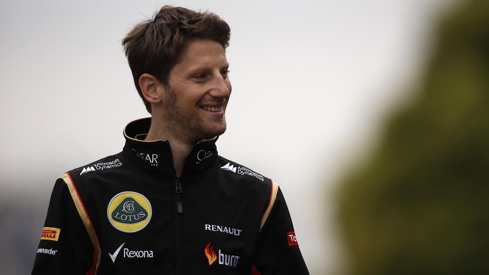 Romain Grosjean (Lotus) - GP of China 2014
