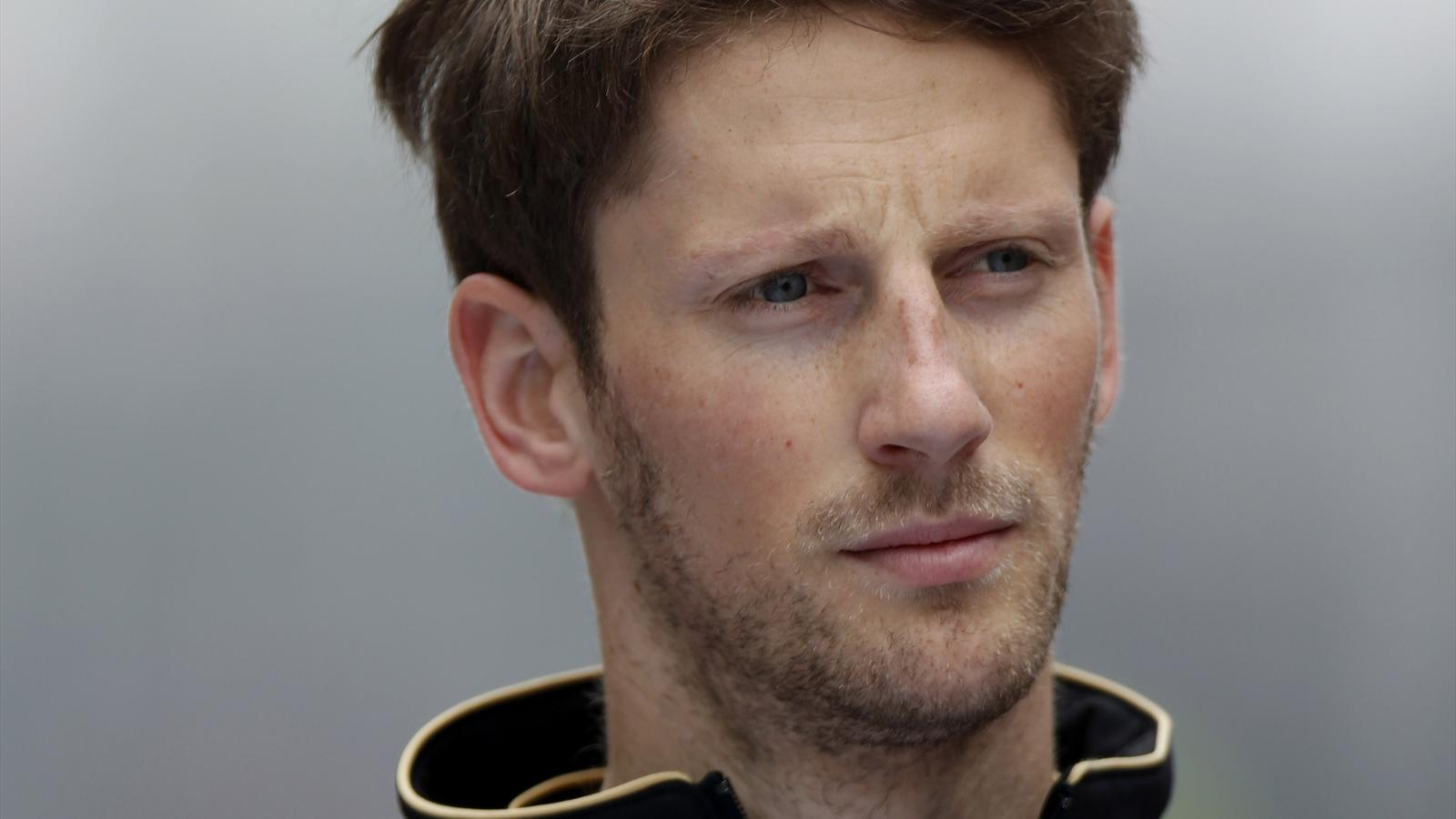 Romain Grosjean (Lotus) - GP de Chine 2014