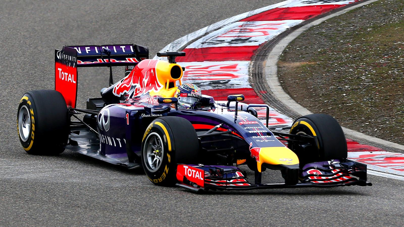 Sebastian Vettel (Red Bull) - GP of China 2014
