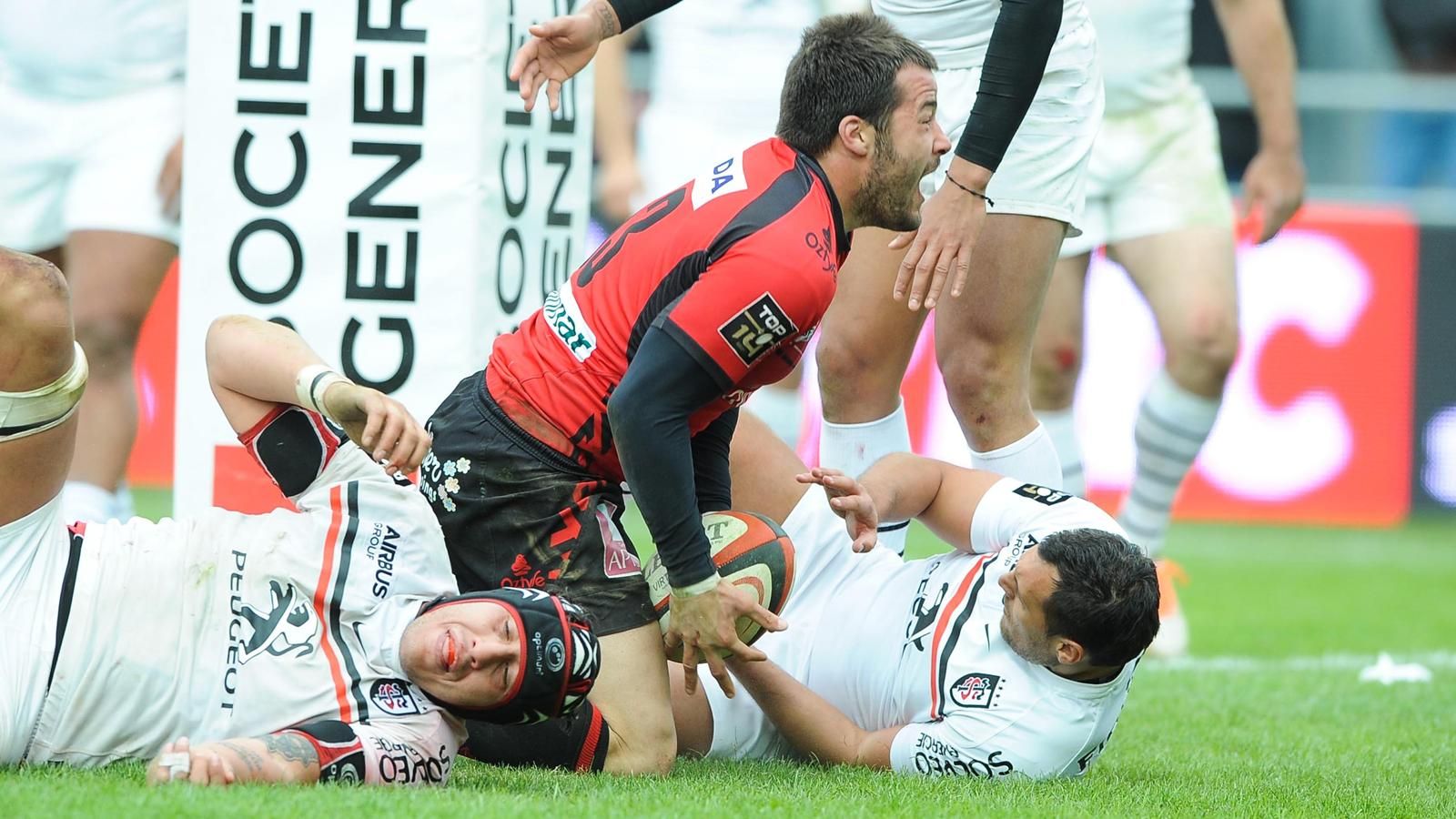 Pierre Aguillon - Oyonnax-Toulouse - 19 avril 2014