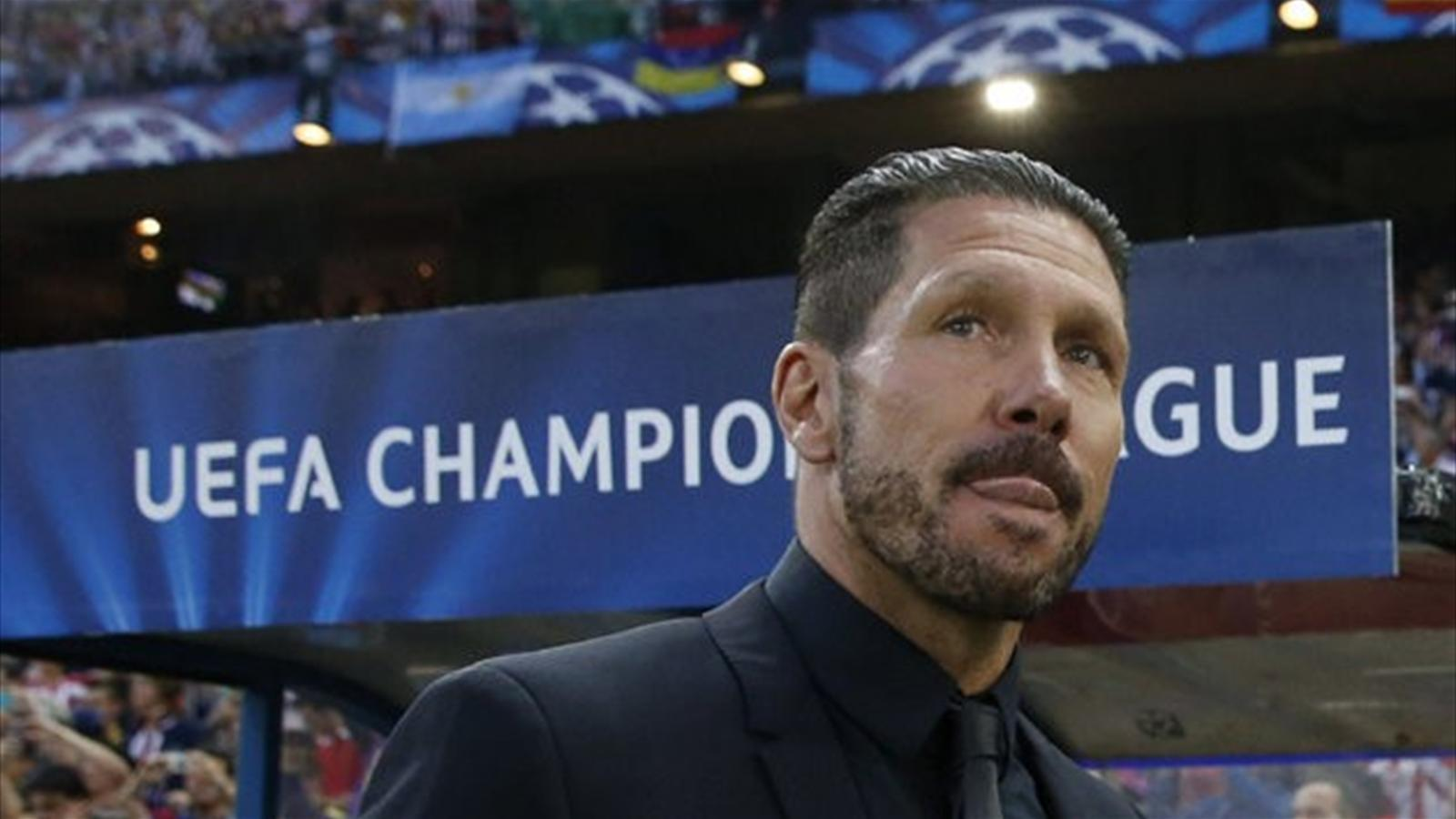 2013-14 Champions League, Atletico Madrid, Diego Simeone (Ap/LaPresse)