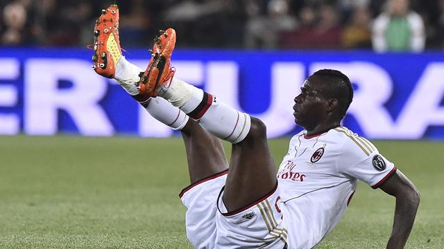 Furious Balotelli clashes with pundits after loss