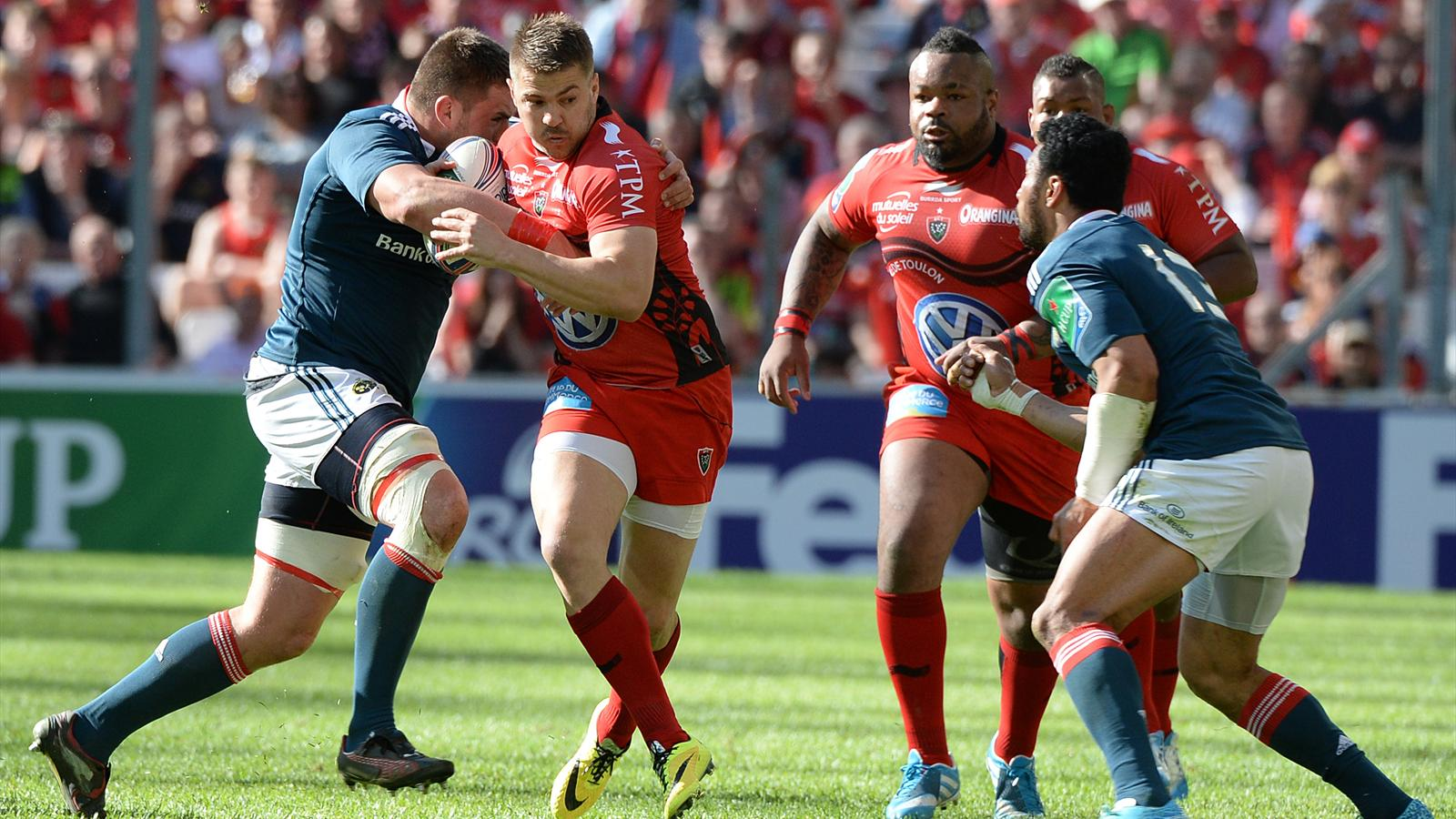 Drew Mitchell - Toulon Munster - 27 avril 2014