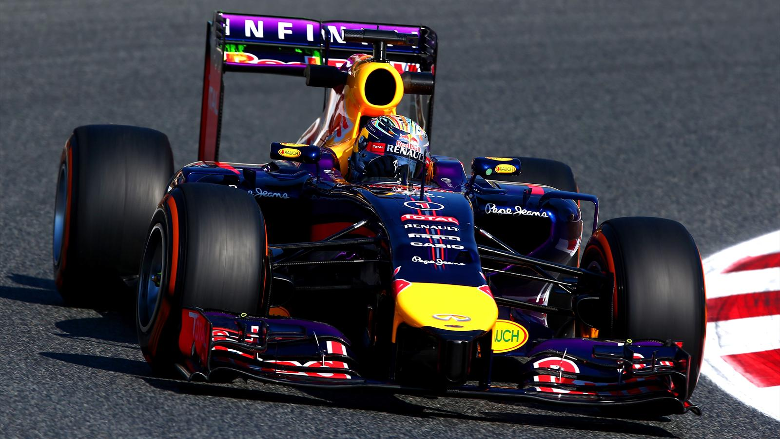Sebastian Vettel (Red Bull) - Grand Prix of Spain 2014