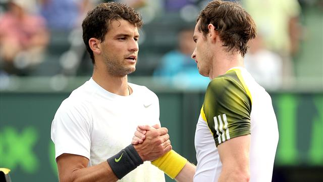 Murray - Dimitrov EN DIRECT