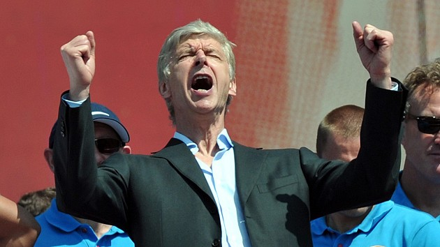 Arsenal manager Arsene Wenger hopes people will focus on the positives on the north London club's FA Cup triumph