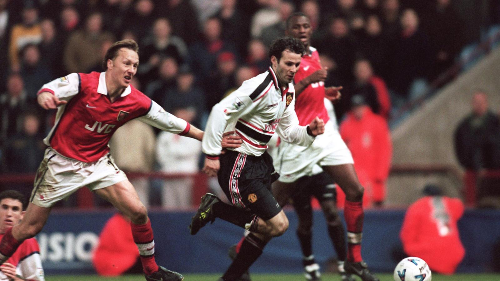 Ryan Giggs Manchester United v Arsenal FA Cup 1999 (PA)