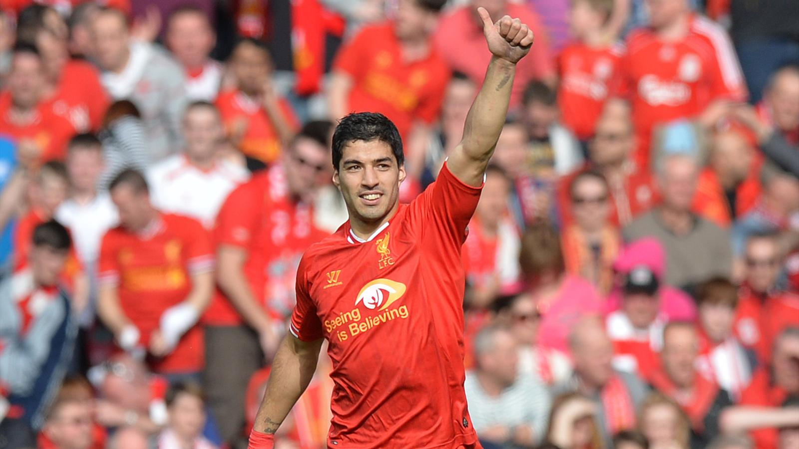 Luis Suarez of Liverpool (AFP)