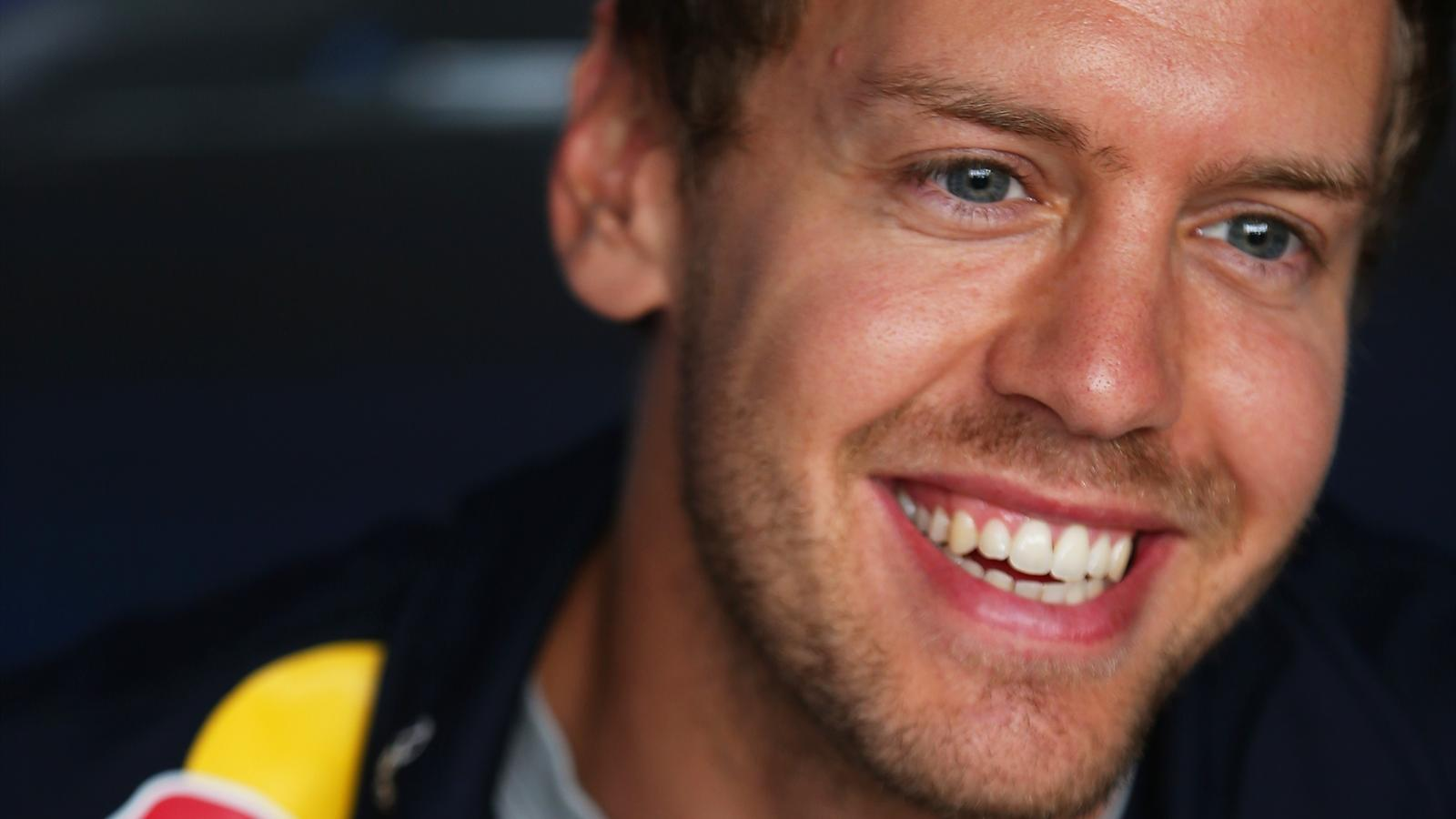 Vettel is all smiles after the Canadian Grand Prix (AFP)