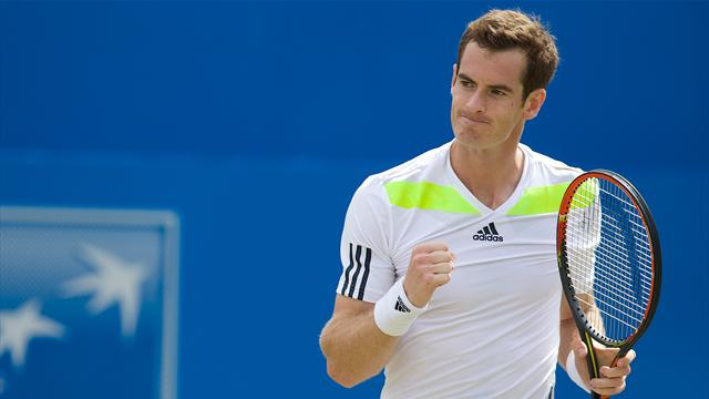 Murray d�bute bien sa collaboration avec Mauresmo
