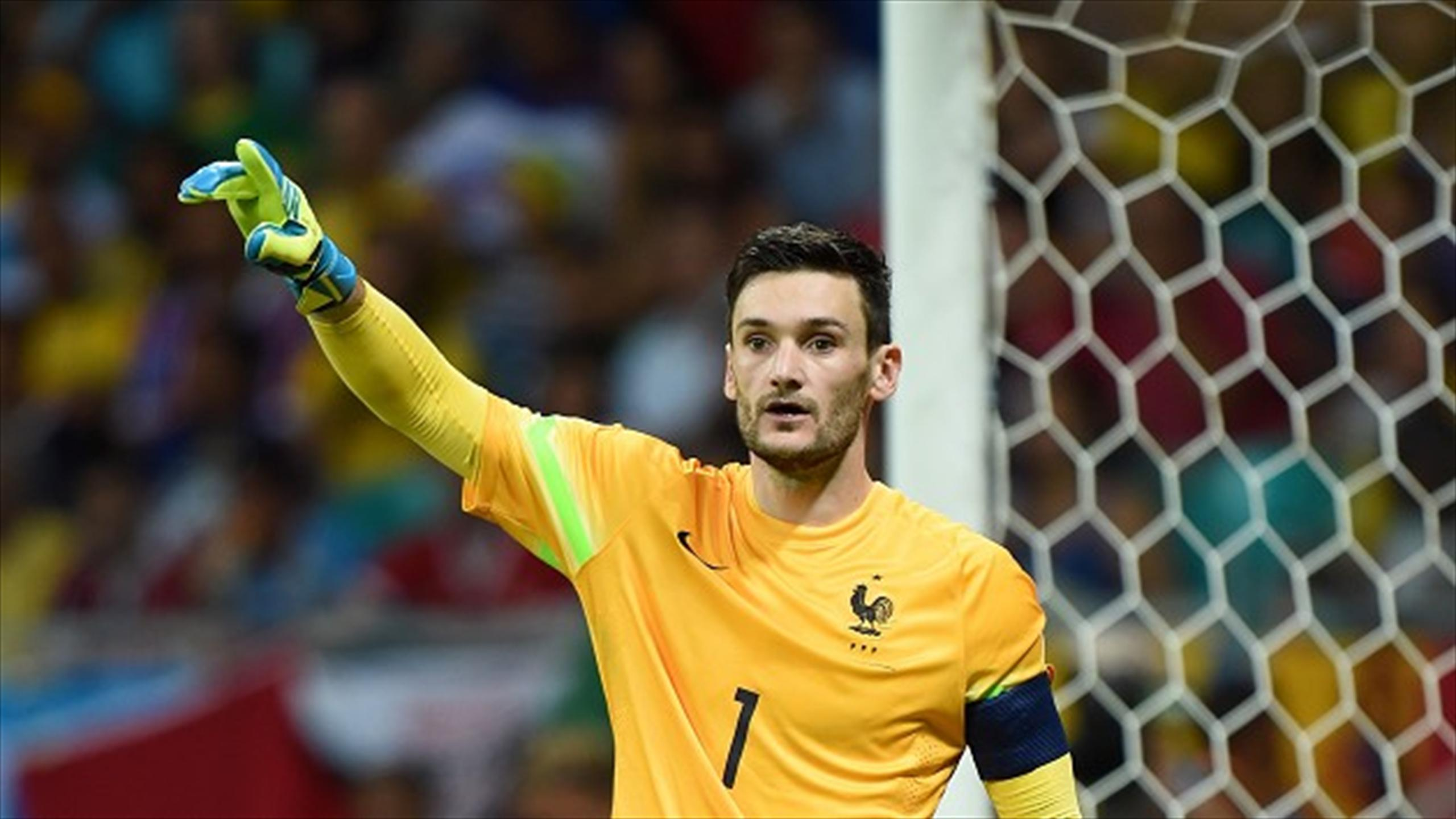 Hugo Lloris says there is no fear among the players ahead of the World Cup quarter-final against Germany