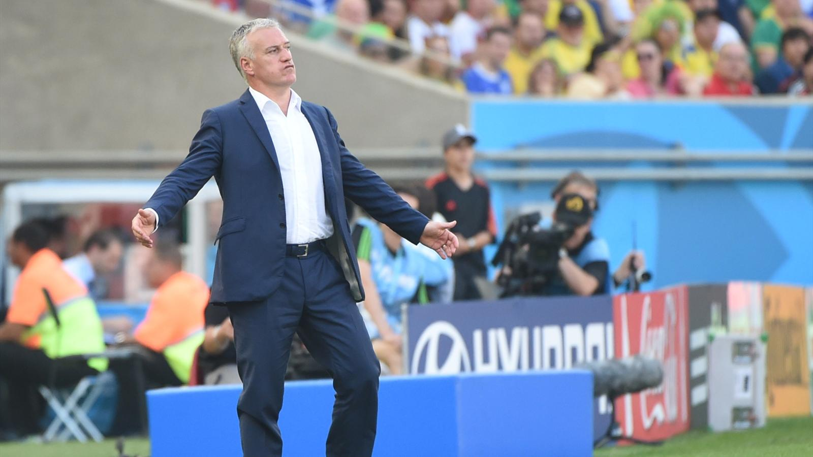 La frustration de Didier Deschamps pendant France-Allemagne