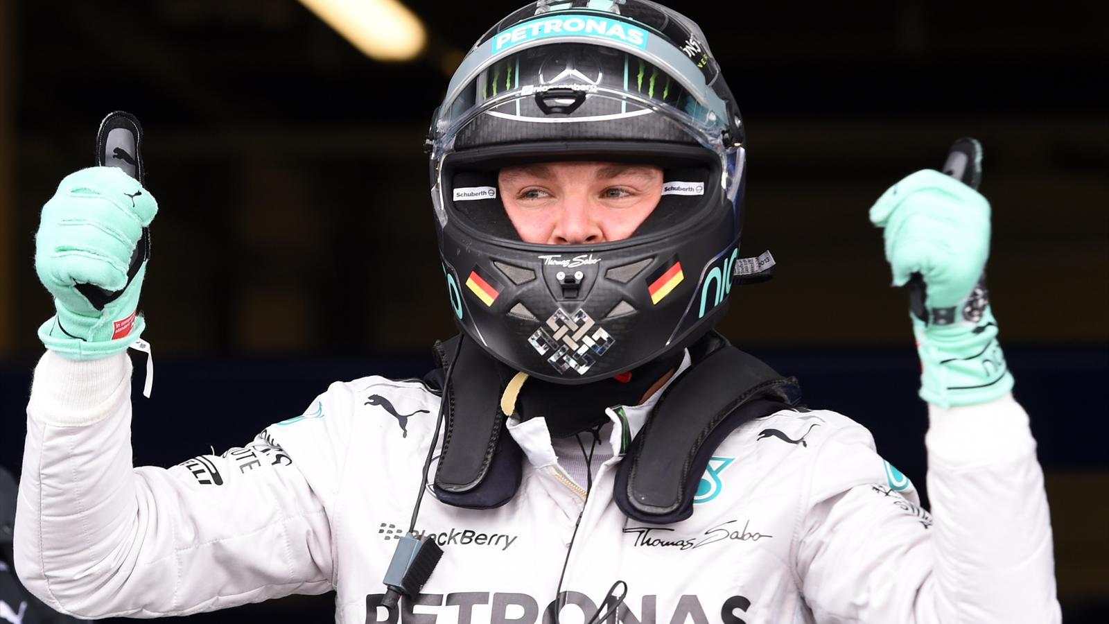 Nico Rosberg (Mercedes) - GP of Great Britain 2014